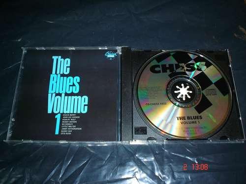 chuck berry, john lee hooker-cd album-the blues vol 1 mmu