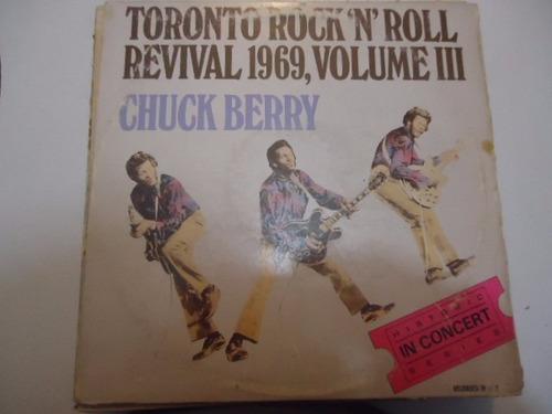 chuck berry / toronto revival vol 3 vinyl lp acetato