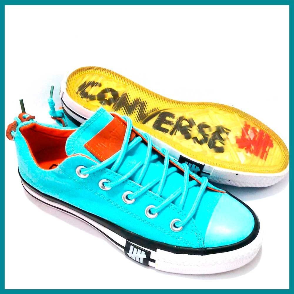 zapatos converse suela transparente