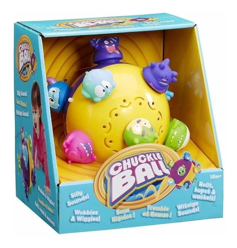 chuckle ball pelota saltarina bebe spin master