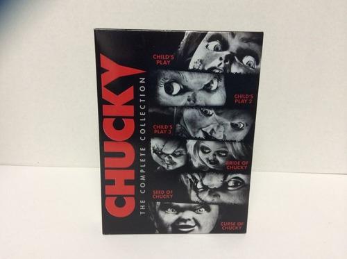 chucky boxset con la coleccion completa peliculas en dvd