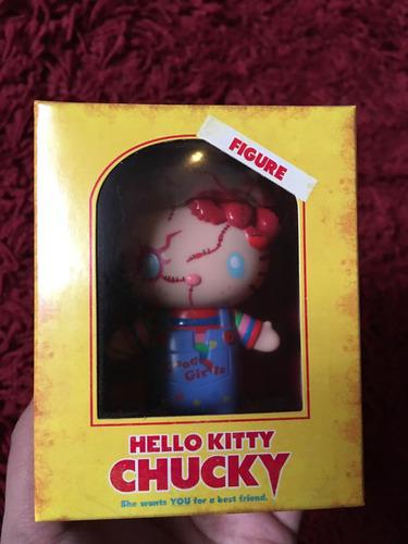 chucky hello kitty figura edición limitada