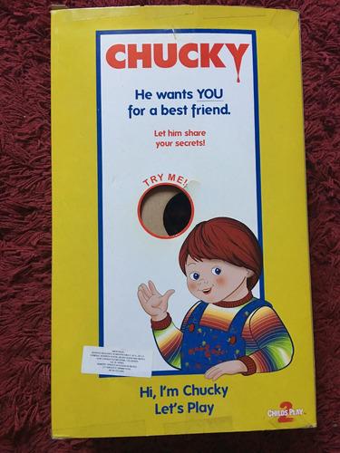 chucky muñeco con sonido mezclo diabólico