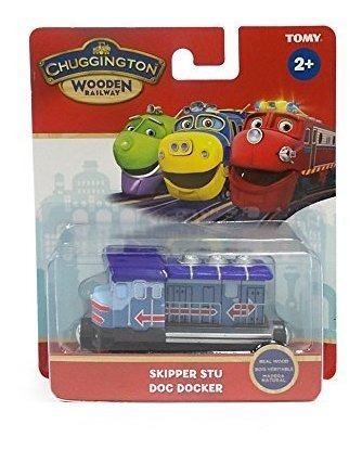 chuggington wooden railway skipper stu