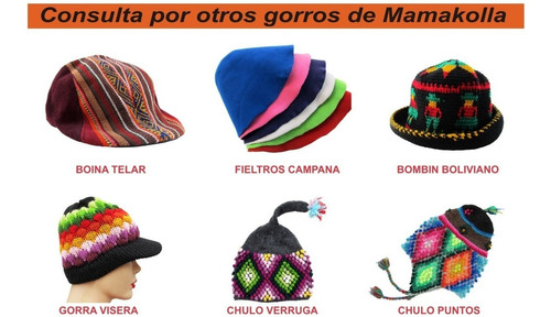chullo gorro andino reversible para niños en mamakolla!