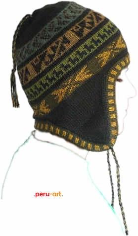 chullos llanos alpaca -  artesania regalos gorros