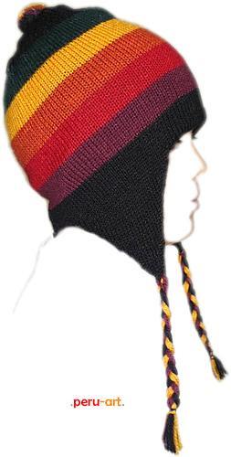 chullos multicolores para niños - artesanias regalos