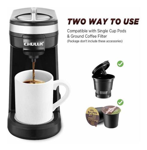 chulux - cafetera de una sola vez, máquina personal de ca