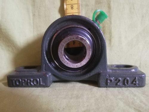 chumaceras tipo puente marca toprol ucp204-12 3/4