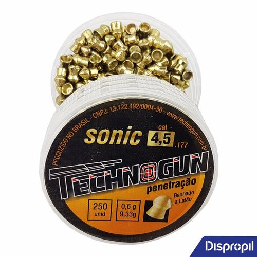 chumbinho 4.5 baratos carabina pressao 2cx sonic vetor 500un