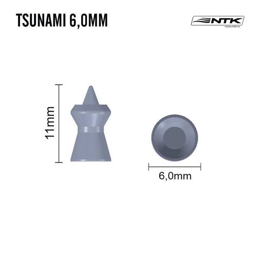chumbinho ntk tático tsunami 6mm