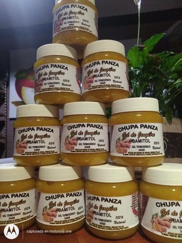 chupa panza paquete  1 jabón,  1 pastillas y 1 gel