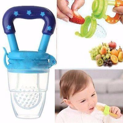 Chupeta bico alimentos frutas papinha bebe mordedor for Comedor de frutas para bebe