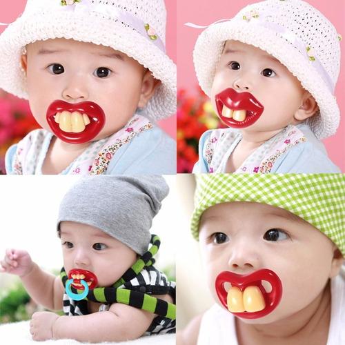 chupeta engraçada bebê