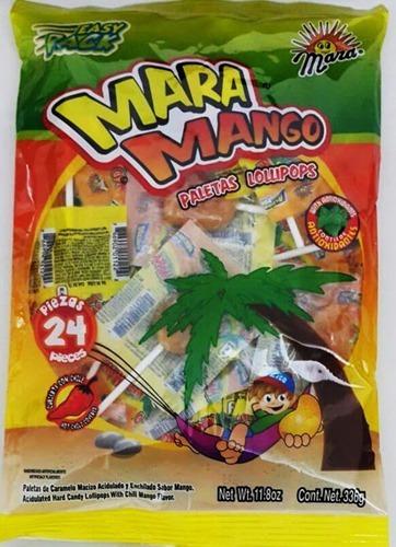 chupeta sabor a mango maramango bolsa x24 - kg a $8