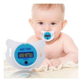 Chupeta Termômetro Digital Infantil