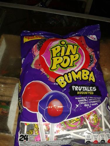 chupetas binbom, k-bzon xxl, bombombum y pipom