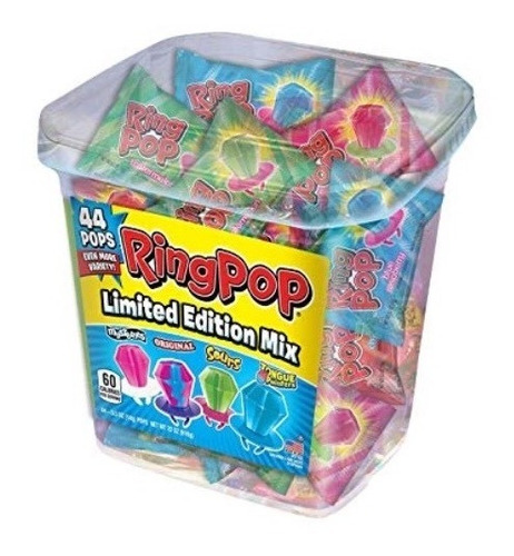 chupetas ring pop (cubeta)