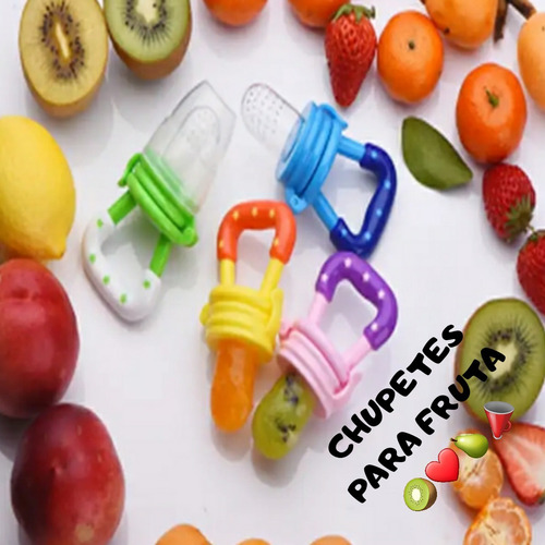 chupete para frutas