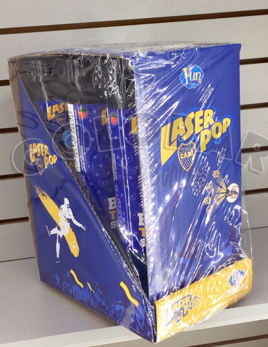 chupetin laser pop boca x6. - zona norte