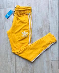 Seguid así Corta vida partícipe  pantalon adidas amarillo mujer - 55% descuento - gigarobot.net