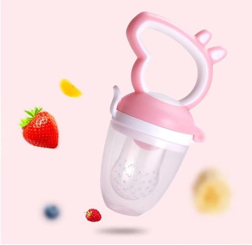 chupón alimentador para fruta o papilla peppa pig