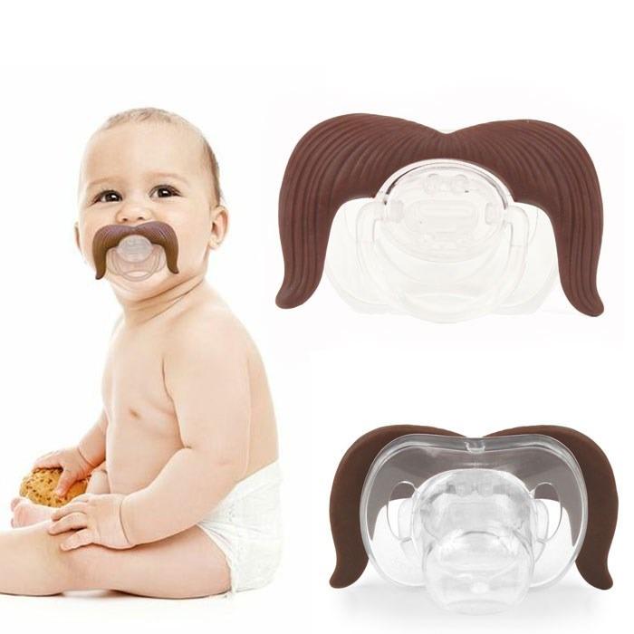 Chupon Bigote Para Bebes Ortodontico Libre Bpa Modelo 2