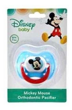 chupon de ortodoncia mickey mouse bebé disney baby