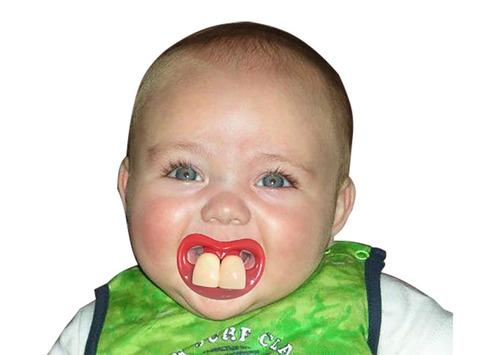 chupones divertidos para bebes