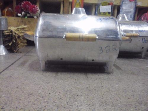 churasqueira a bafo em alumínio fundido ( tamanho pequena )