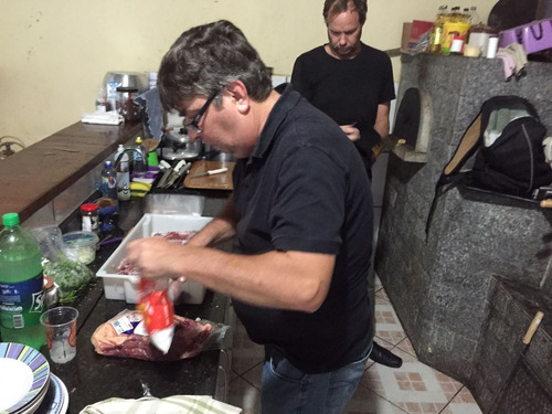 churrasco a domicilio - churrasqueiro