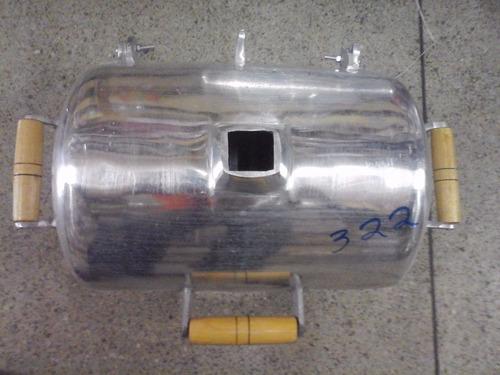 churrasqueira a bafo em alumínio fundido ( tamanho pequena )