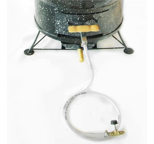 churrasqueira a bafo gás ou carvão apolo 10 preto ee