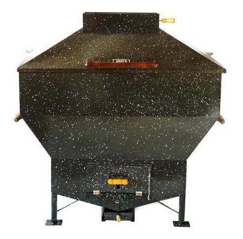 churrasqueira a carvão gás apolo industrial esmaltada