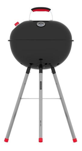 churrasqueira a carvão inox c/ termometro tcp450l tramontina