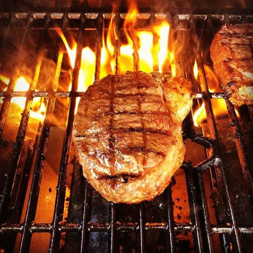 churrasqueira americana a gás de inox portátil com fogão