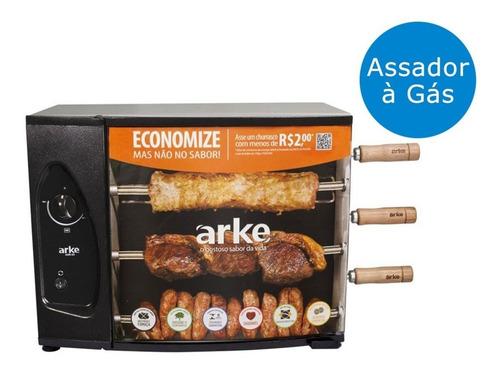 churrasqueira arke agr-03 para gás glp bivolt
