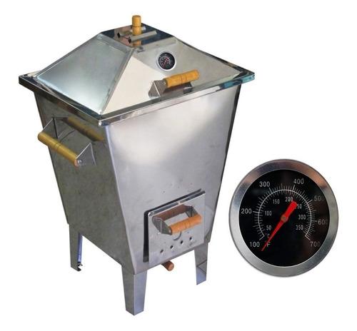 churrasqueira bafo forno defumador inox 12kg carne