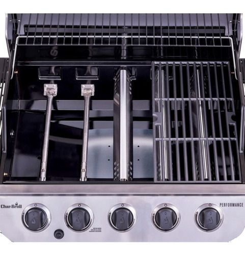 churrasqueira char-broil advantage 5q - embutir - 463373319