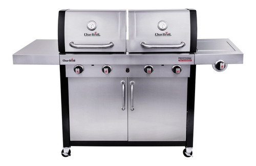 churrasqueira char-broil professional infrared double header