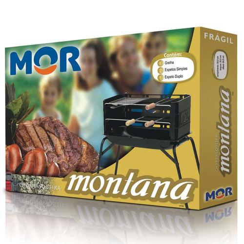 churrasqueira com acessórios montana 3005 mor