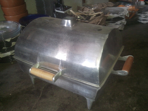 churrasqueira de alumínio 30x40