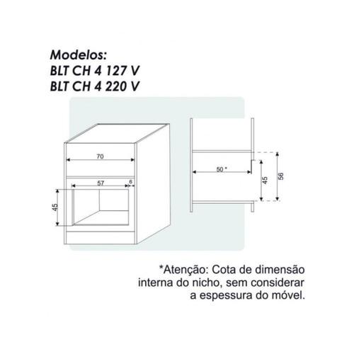 churrasqueira de embutir elétrica built 4 espeto rotativo 1