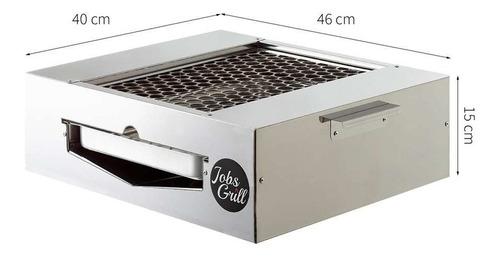 churrasqueira de fogão premium inox