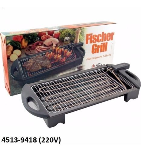 churrasqueira elétrica fischer grill 4513-9418 (220v)