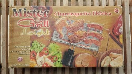 churrasqueira elétrica master grill