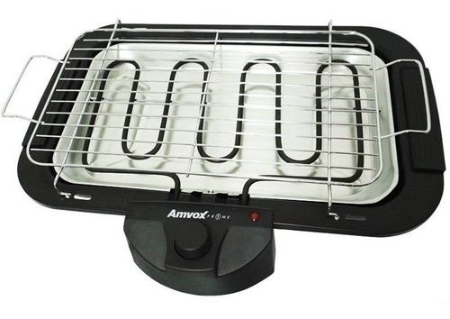 churrasqueira elétrica portátil super grill 2000w pés 220v