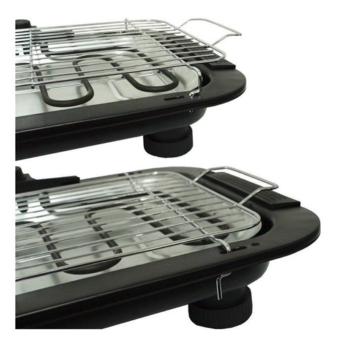 churrasqueira elétrica super grill 2000w pés 220v portátil