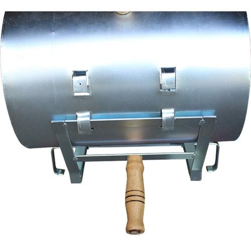 churrasqueira fogo de chão costela gaucha mini tambor