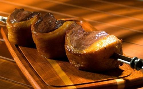 churrasqueira giratória 5 espetos grill inox (promoção)